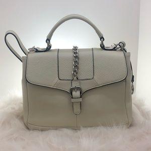 Giani Bernini Tote Purse wi/pebble leather/Ivory
